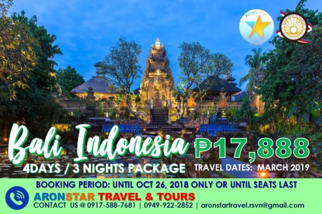 Bali Indonesia package